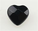 Onyx 12x12 mm Hjerte Facet