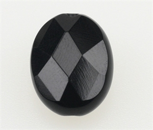 Onyx 14x10 mm Oval Facet/Flad