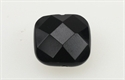Onyx 14x14 mm Firkant Facet
