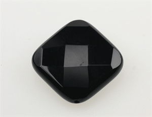 Onyx 23x23 mm Firkant Facet