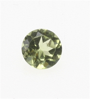 Peridot Facet 4 mm